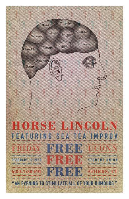 Sea Tea Improv Poster February 12 Show
