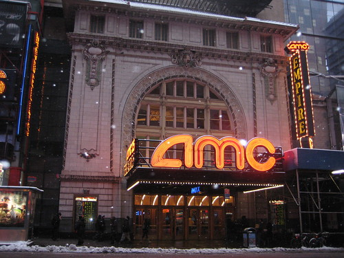 2010 Blizzard AMC Empire Theater 42nd Street NYC 4005