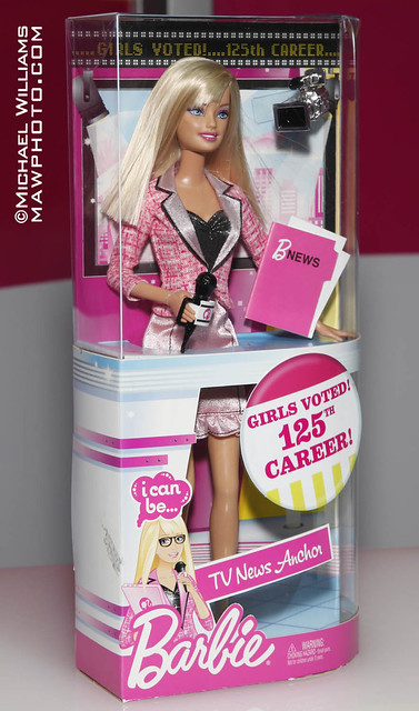 4358339200 1b5bc2a0b5 z Girls voted for Barbie's 125th Career since starting out as a teen fashion ...
