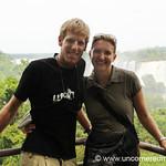 Audrey and Dan - Iguazu Falls, Argentina