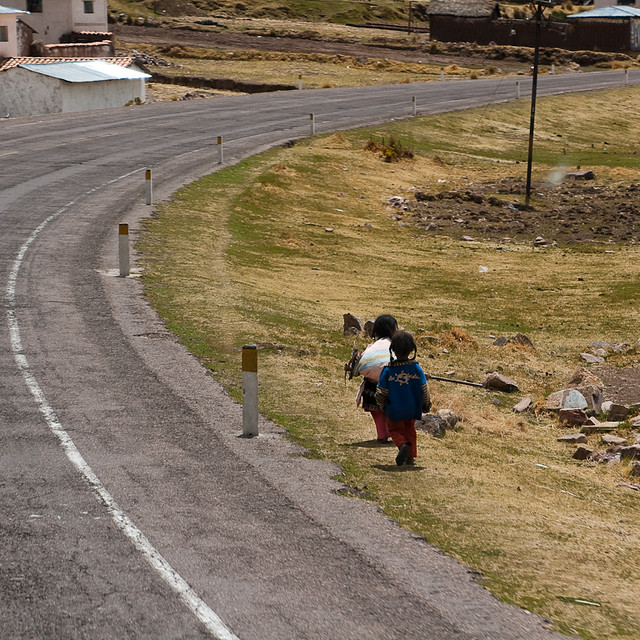 On the road to Cusco
