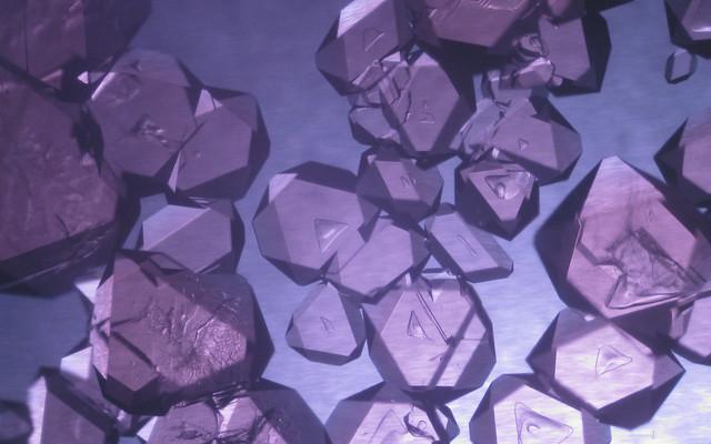 Chrome Alum Crystals | Flickr - Photo Sharing!