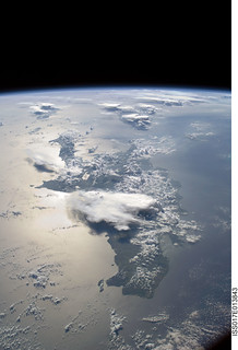 Hispaniola Panorama (NASA, International Space Station Science, 08/19/08)