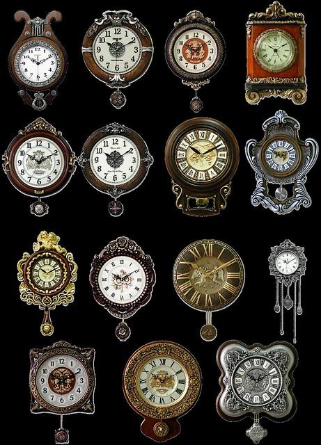 Antique Clock Snips
