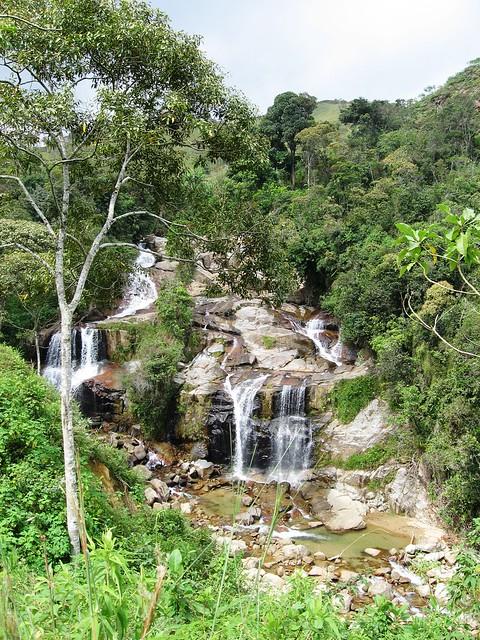 Cascada en las afueras de Concepción, Antioquia