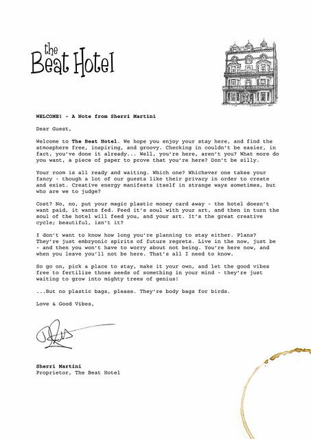Hotel Guest Welcome Letter