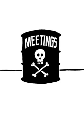 Meetings Are Toxic - Rework - por Mike Rohde