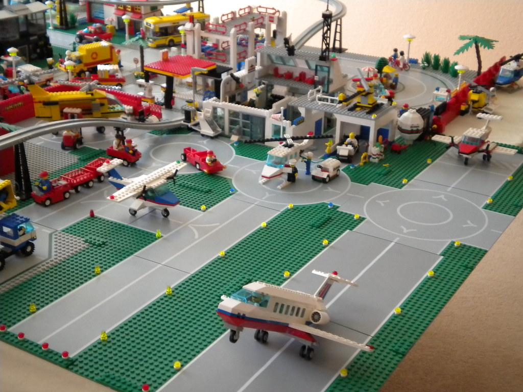 Aeroporto Lego : Lego city airport a photo on flickriver