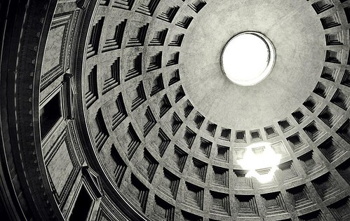 Light Beam through the Oculus of the Pantheon in Rome | by Chase Lindberg Photography