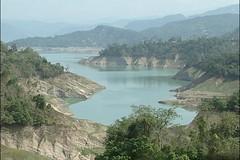 台灣南部水庫淤積嚴重,蓄水量減少,經常造成水荒。圖片來源:公共電視。