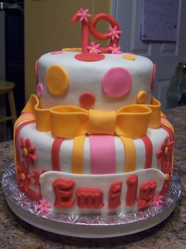 19th birthday cake pics