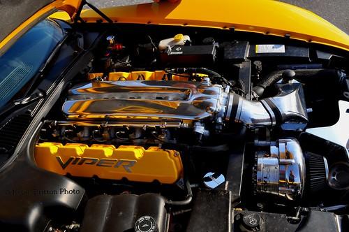 Dodge Viper SRT-10 Engine Detail Shot
