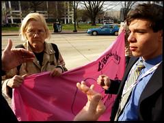 Code Pink vs AIPAC