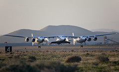 "VSS Enterprise First Flight, The Triumph of Private ""Enterprise"". Photo by Mark Greenberg"