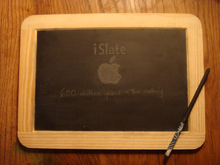 Not the Apple iPad, its the iSlate!