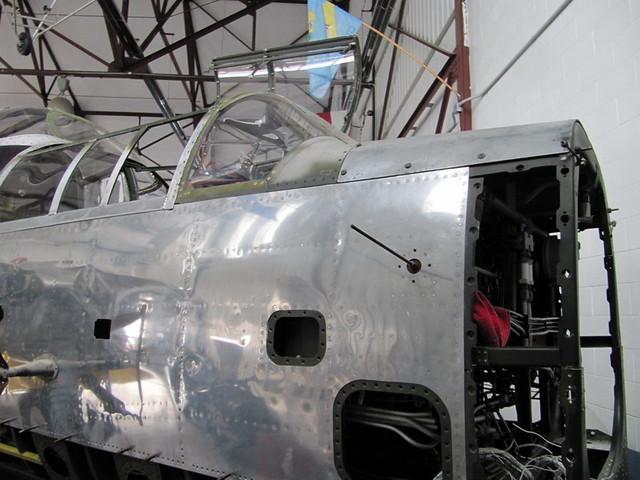 P-61B Black Widow, N550NF (Restoration)
