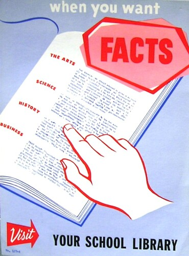 RETRO POSTER - When You Want Facts