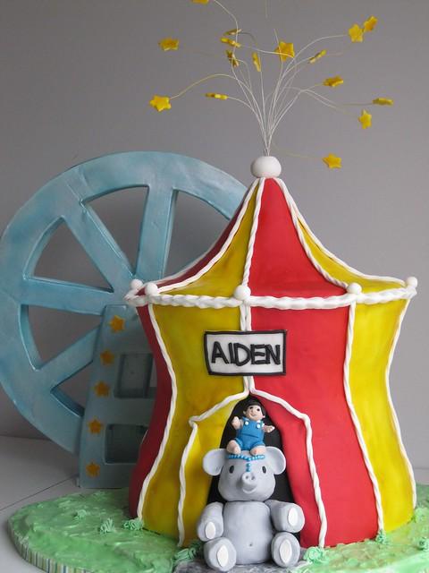 Wicked Birthday Cake