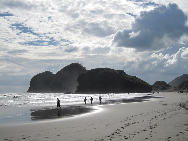 Easter at Bethells Beach