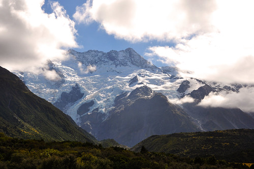 Mount Sefton in Aoraki National Park