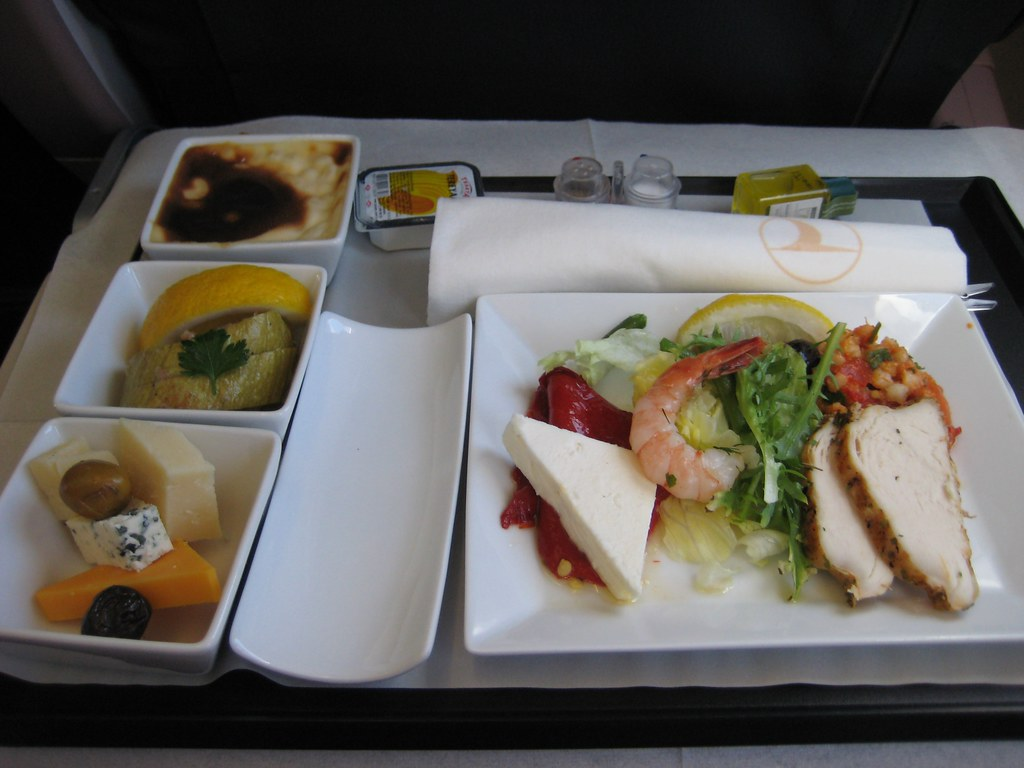 Turkish Airlines business class Istanbul - Cairo