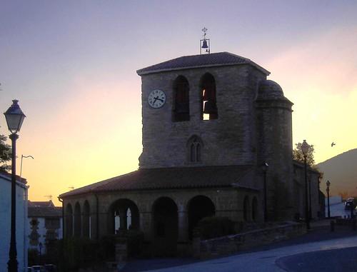 church spain kirche pilgrimage jakobsweg spanien caminodesantiago navarra pilgern roadtosantiago tiebas