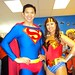It's Superman and Wonder Woman!