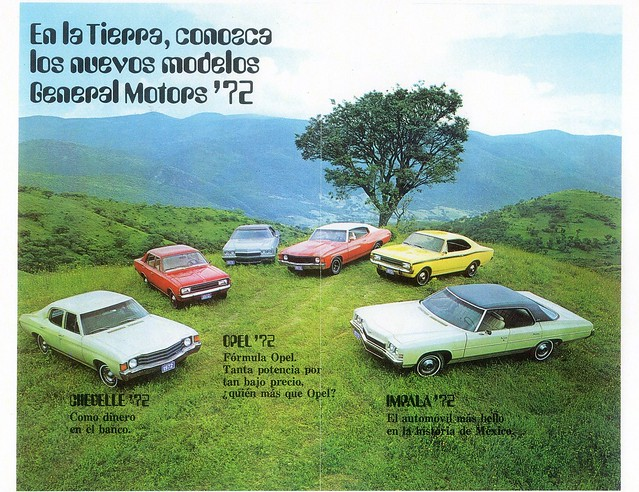 1972 general motors mexico p2 from the early sixties for L and m motors athens tn