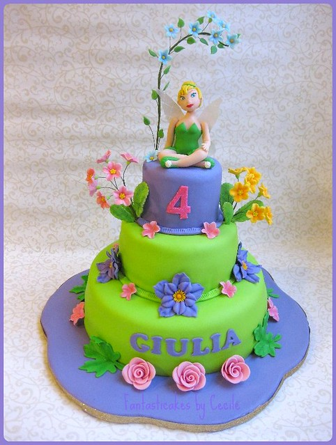 Torta Trilli / Tinkerbell Cake | Flickr - Photo Sharing!