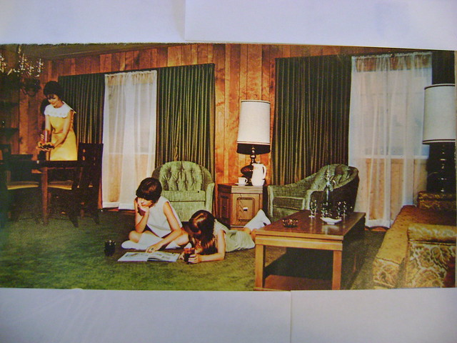 Mobile Home Interior 1968 Flickr Photo Sharing