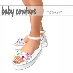 [BabyCouture] Claire Sandels Ad