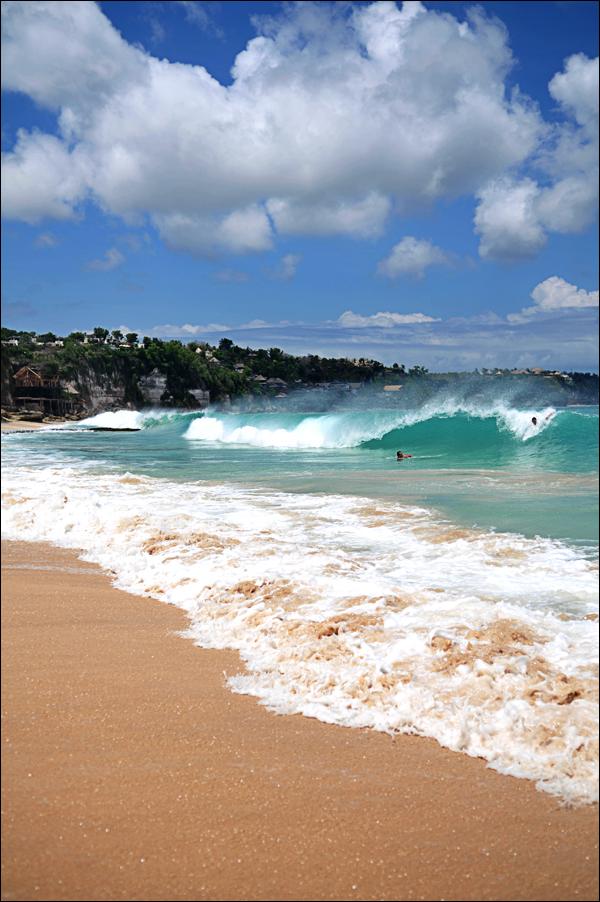 Dreamland beach, Bali, Indonesia