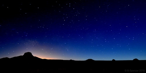Carlsbad New Mexico - Night at Cabezon