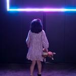 Little Girl in Light Installation
