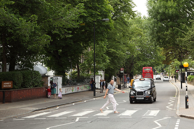 The inevitable Abbey Road shot