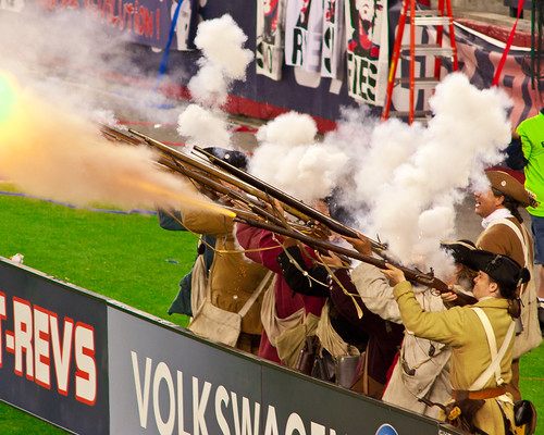 New England Revolution Goal!