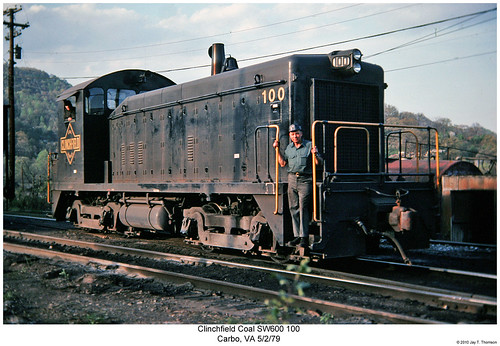 Clinchfield Coal SW600 100