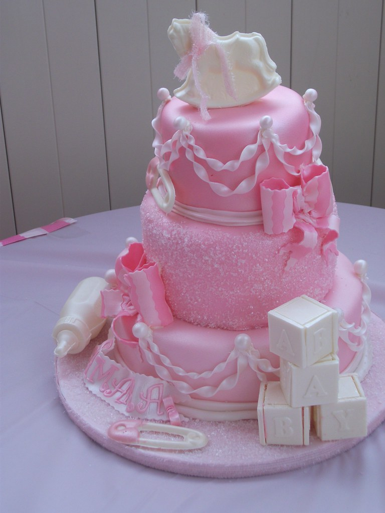 baby shower cakes baby shower cakes pink