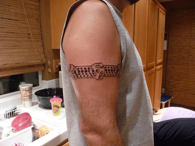 DJ Ray Technics 1200 Tattoo | Flickr - Photo Sharing!