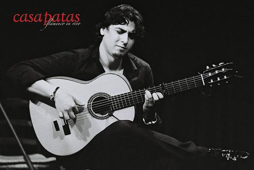 El guitarrista Luis Miguel Manzano. Foto: Martín Guerrero