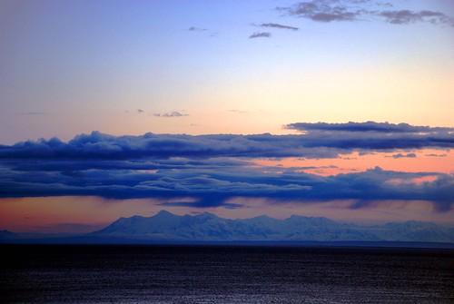 Alaska Peninsula Evening Twilight