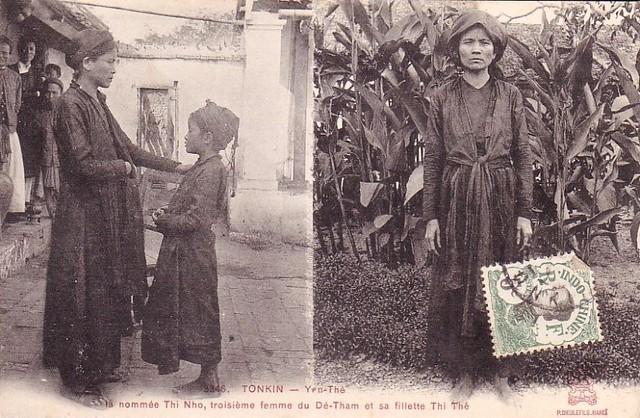 Thị Nho, người vợ thứ 3 của Ðề Thám bị bắt