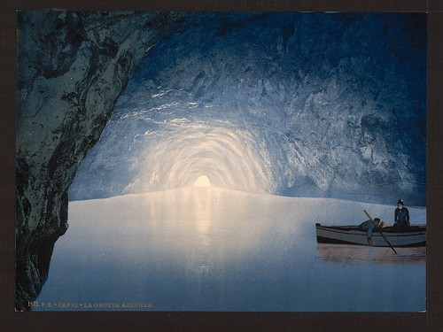[Blue grotto, Capri Island, Italy] (LOC) by The Library of Congress