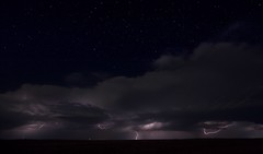 Photograph: Lightning from the north