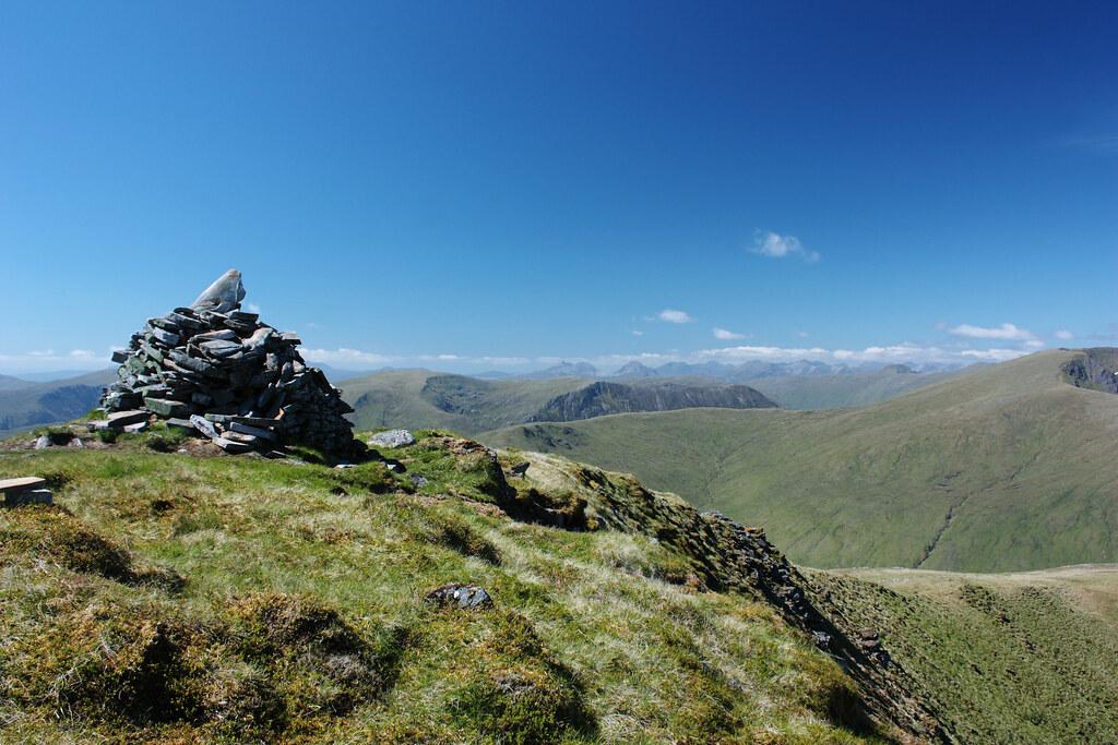 Summit of Beinn Fionnlaidh