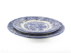 dishware, platter, blue and white porcelain, plate, cobalt blue, tableware,