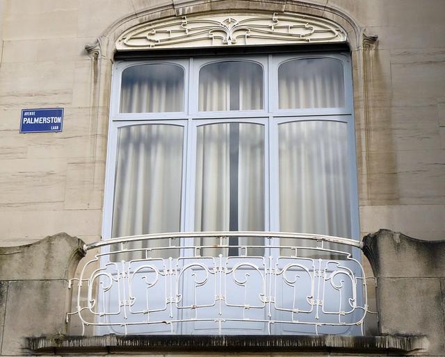 Bruxelles art nouveau belgique etterbeek avenue for Art nouveau fenetre
