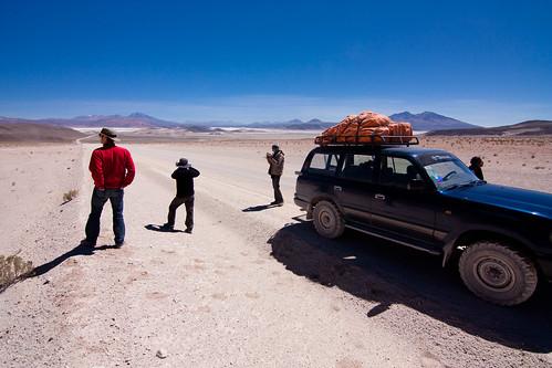 Bolivia - Near Ollagüe volcano