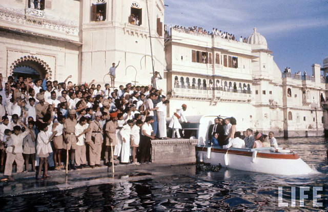 Jackie Kennedy visits India - March 1962