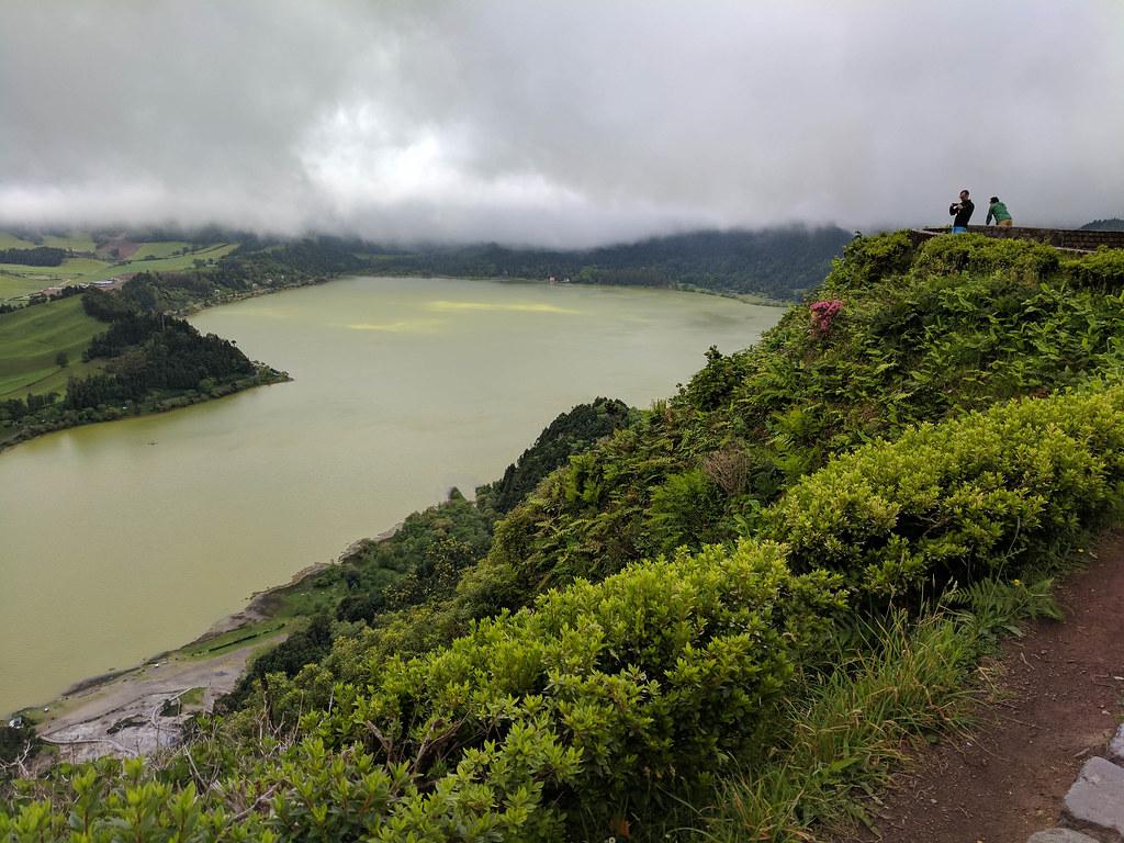 Furnas-See auf Sao Miguel